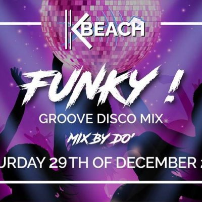 FUNKY! Groove Disco Mix! Do Night Fever at K Beach rooftop!