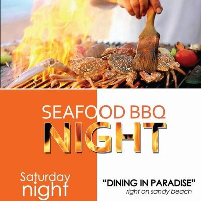Seafood BBQ Night on the beach