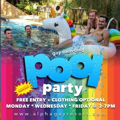Gay Pool Foam Party