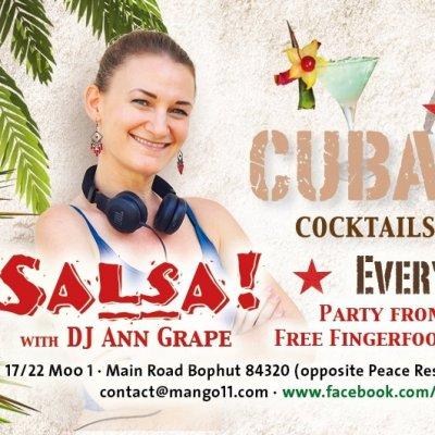 Salsa Party with DJ Ann Grape