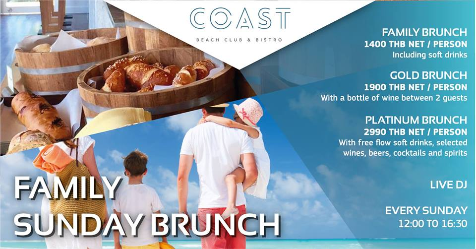 Family Sunday Brunch at COAST!