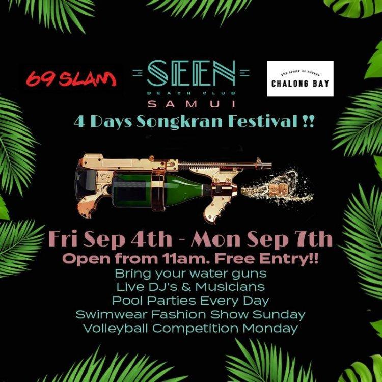 4 days Songkran Festival
