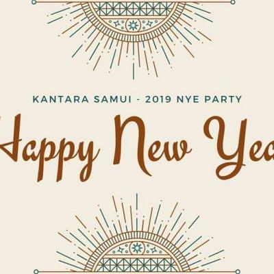 Happy New Year! Kantara Beachfront Thai Buffet Gala Dinner