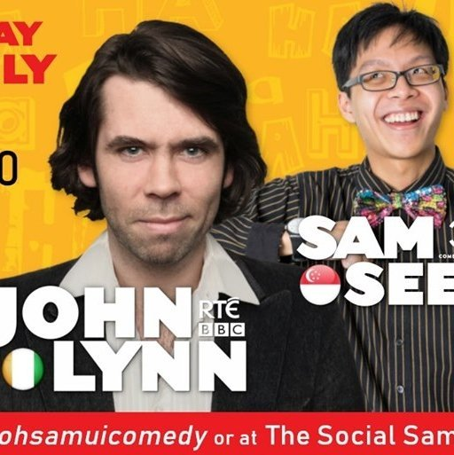 The Social Comedy presents John Lynn & Sam See!