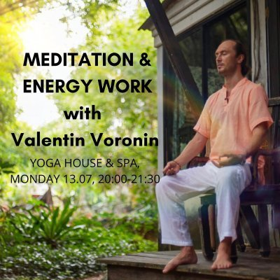 Live Meditation & Energy Work Session