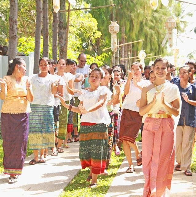 Songkran Festival at SALA Choengmon