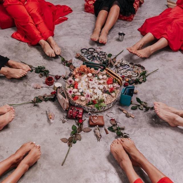 Женский круг на новолуние :манифестация желаний