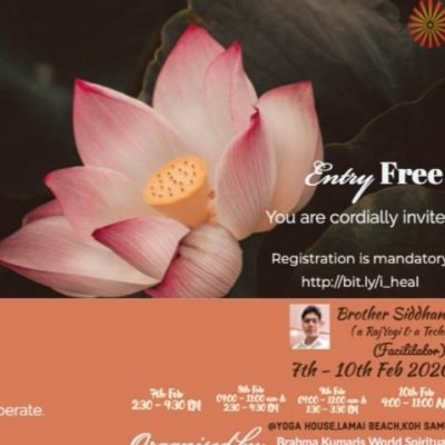 Wonders of Silence talks on Raja Yoga by Brahma Kumaris