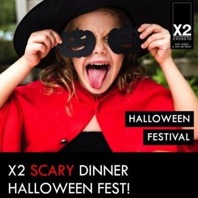 X2 Koh Samui Scary Dinner Halloween Fest!