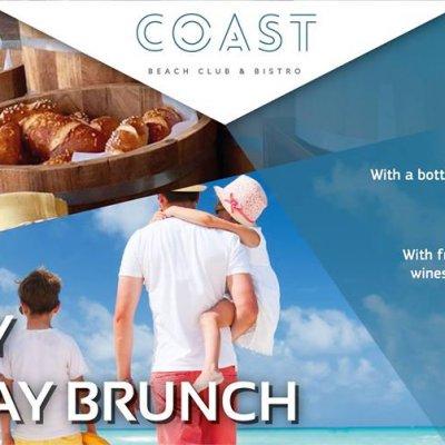 Family Sunday Brunch at COAST!