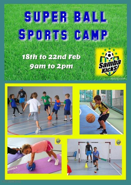 Super Ball Sports Camp 2019