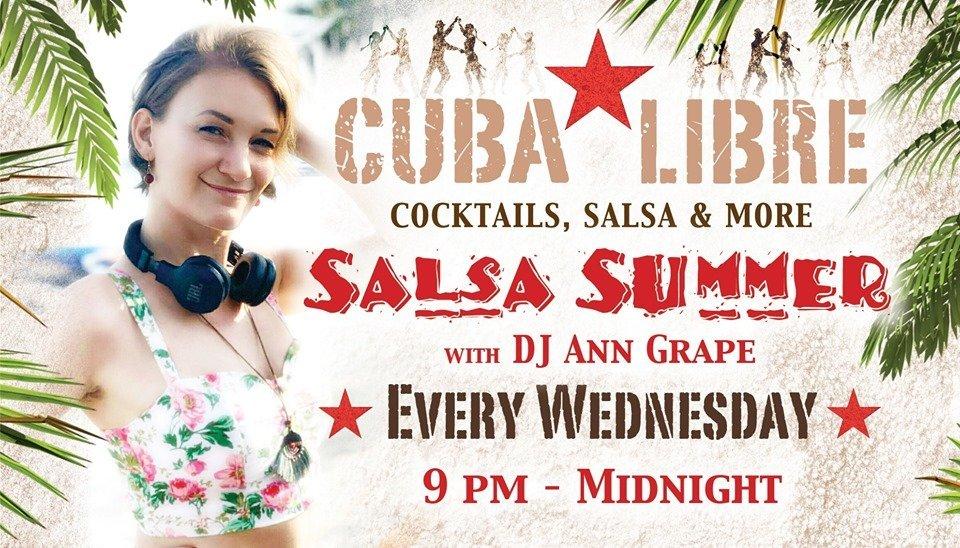 Salsa Summer Party with DJ Ann Grape