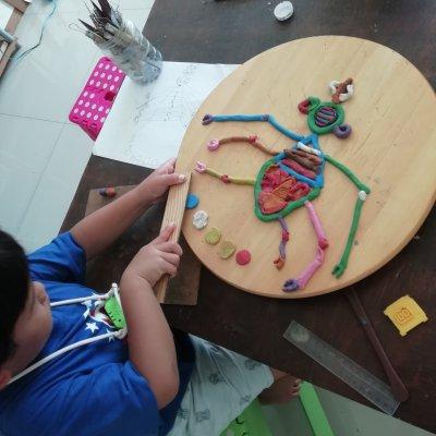 Art classes fun&creativity for kids. Age 3+.