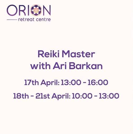Reiki Master with Ari Barkan