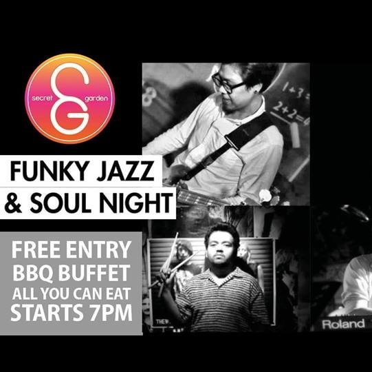 FUNKY Jazz&soul NIGHT feat. Samui Jazz Brothers & Nok La Fiesta