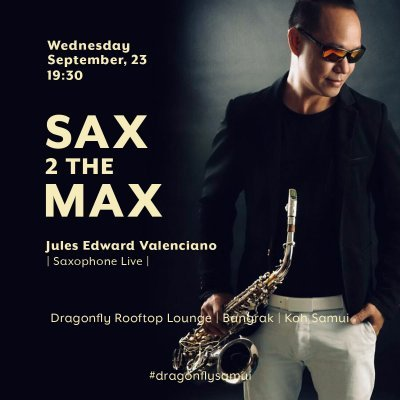 SAX 2 THE MAX | Saxophone Live at Dragonfly Lounge