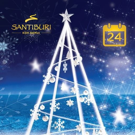 Christmas Eve 2018 at Santiburi Koh Samui