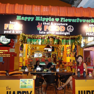 Cristmas Eve at the Happy Hippie