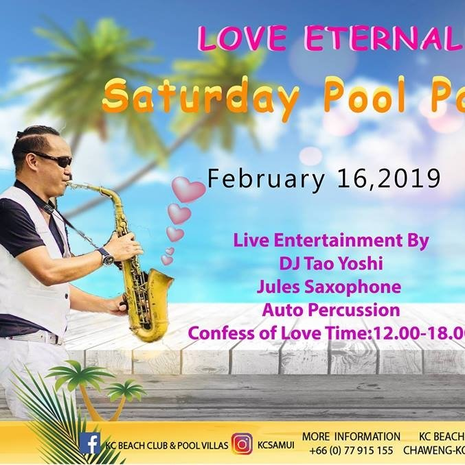 Love Eternal Pool Party