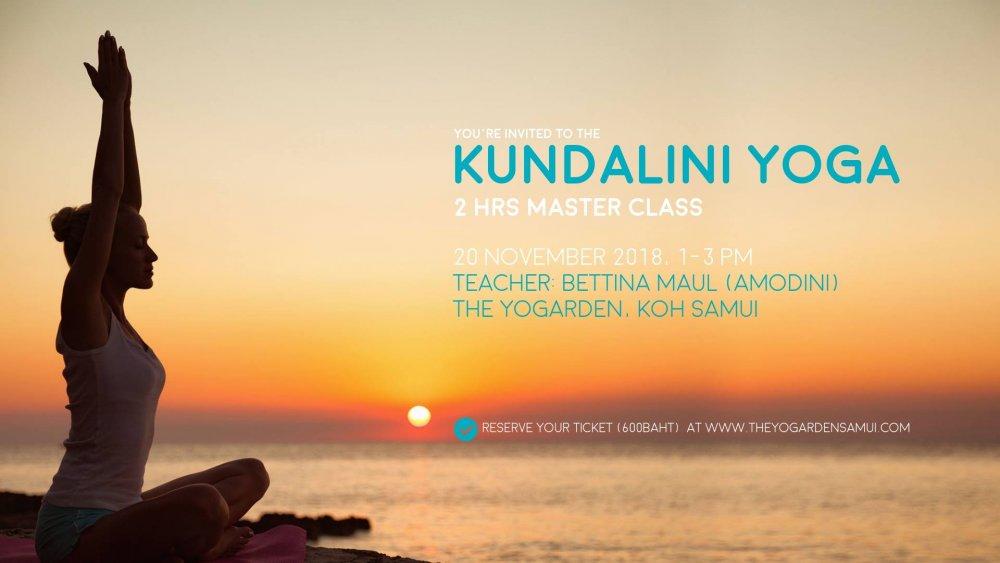 A Kundalini 2hrs Masterclass