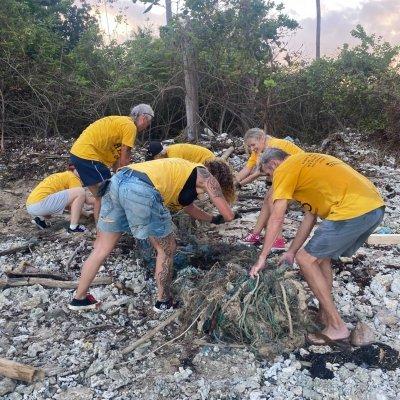 Satva Beach Cleanup:  Trash Hero Koh Samui