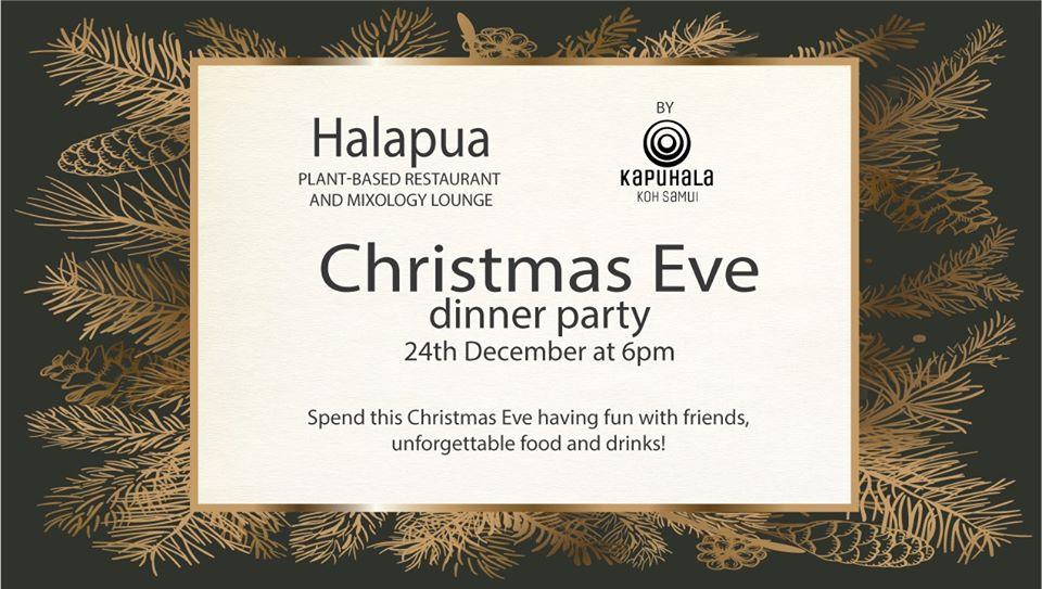 Halapua Christmas Eve Dinner Party