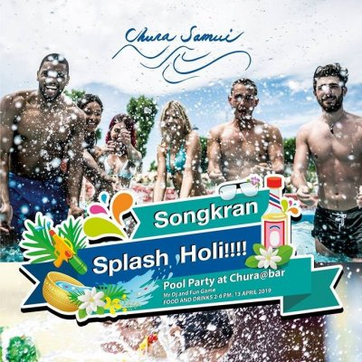 Songkran Splash Holiii!