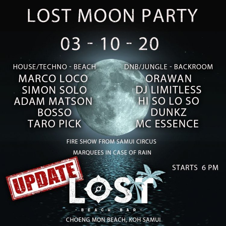 Lost Moon Party