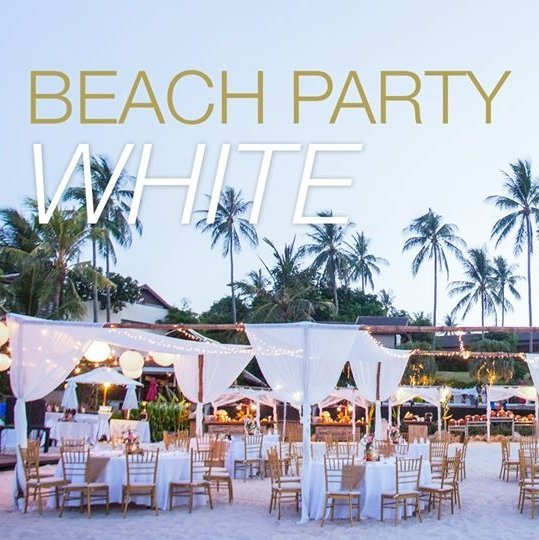 Beach Party: White