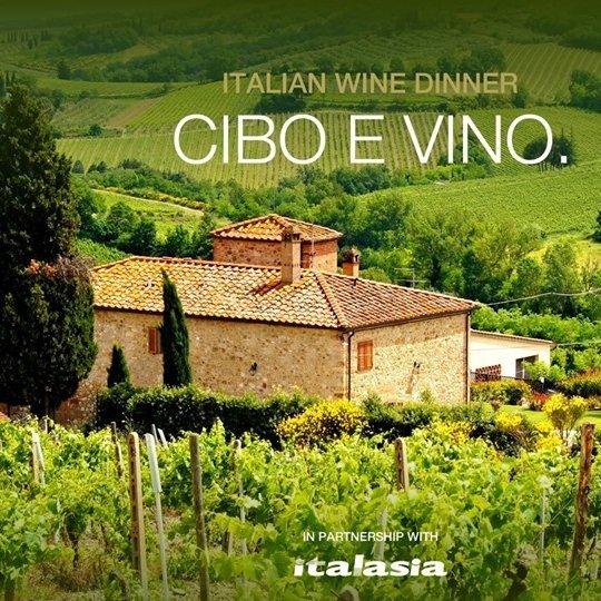 Italian Wine Dinner Cibo E Vino.