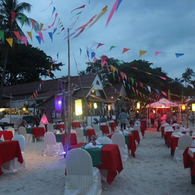 CHINESE NEW YEAR DINNER BUFFET ON THE BEACH
