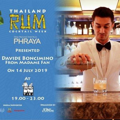 Phraya presents Meet the Craft : Thailand Rum Cocktail Week