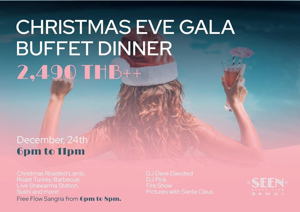Christmas Eve Gala Buffet Dinner