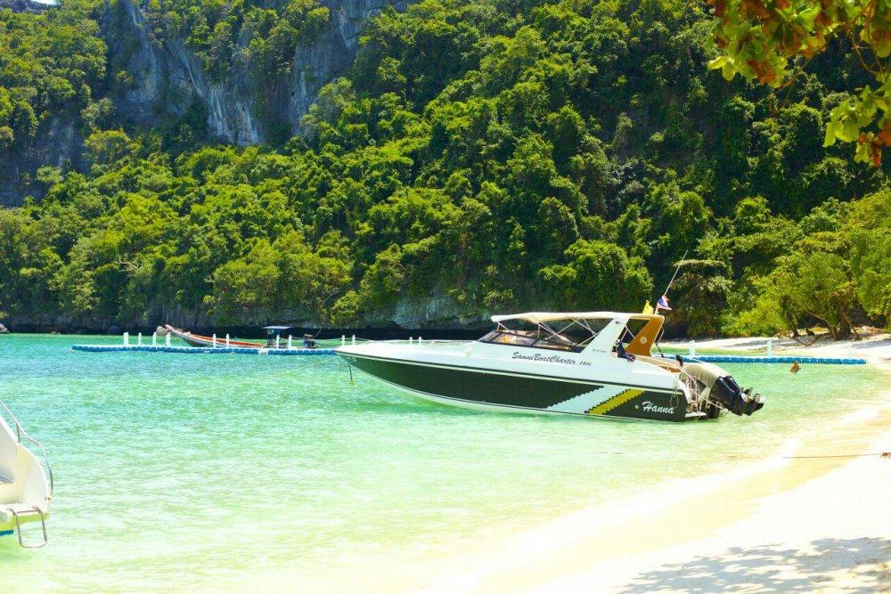 Sea Cruise at Angthong Marine Park