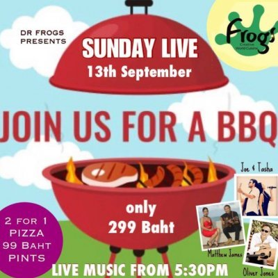 Live Music BBQ Sundays!