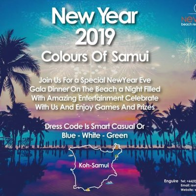 New Years Eve 'Colours Of Samui'