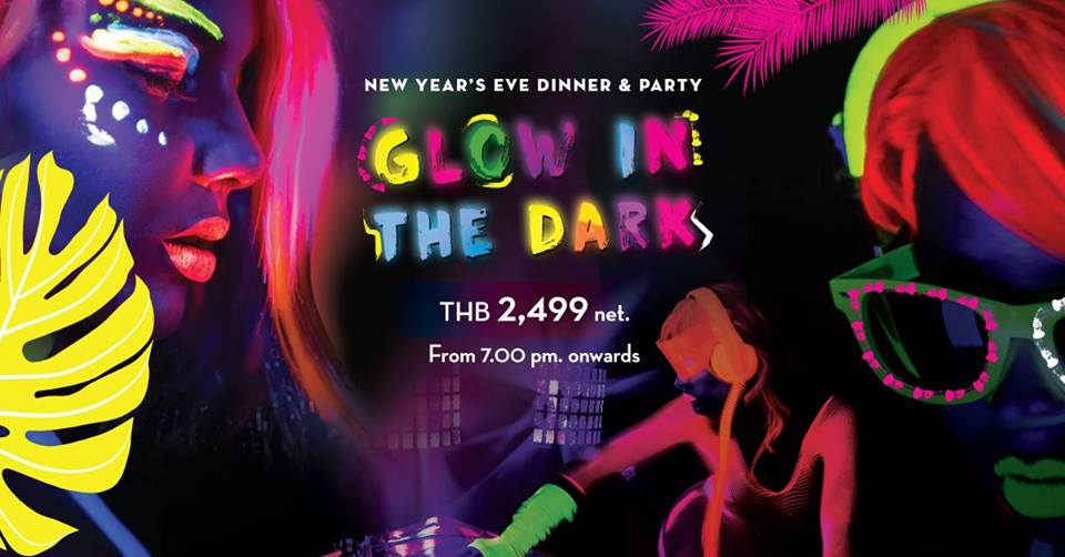 "New Year's Eve dinner Party ""Glow in the Dark"""