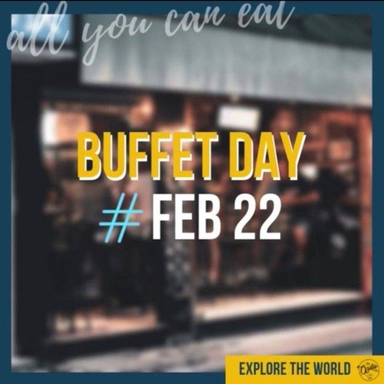 EAT 'EM ALL - BUFFET DAY