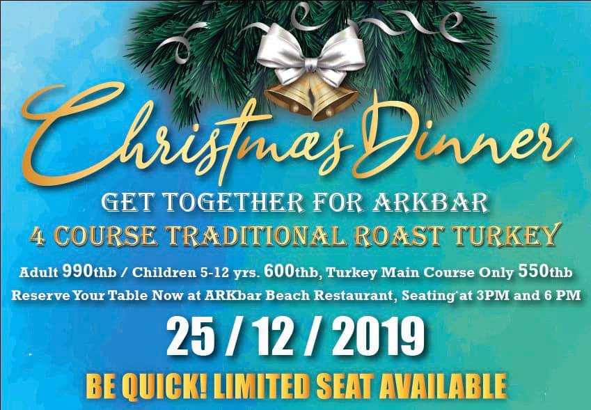Christmas Dinner @ ARKbar beach club