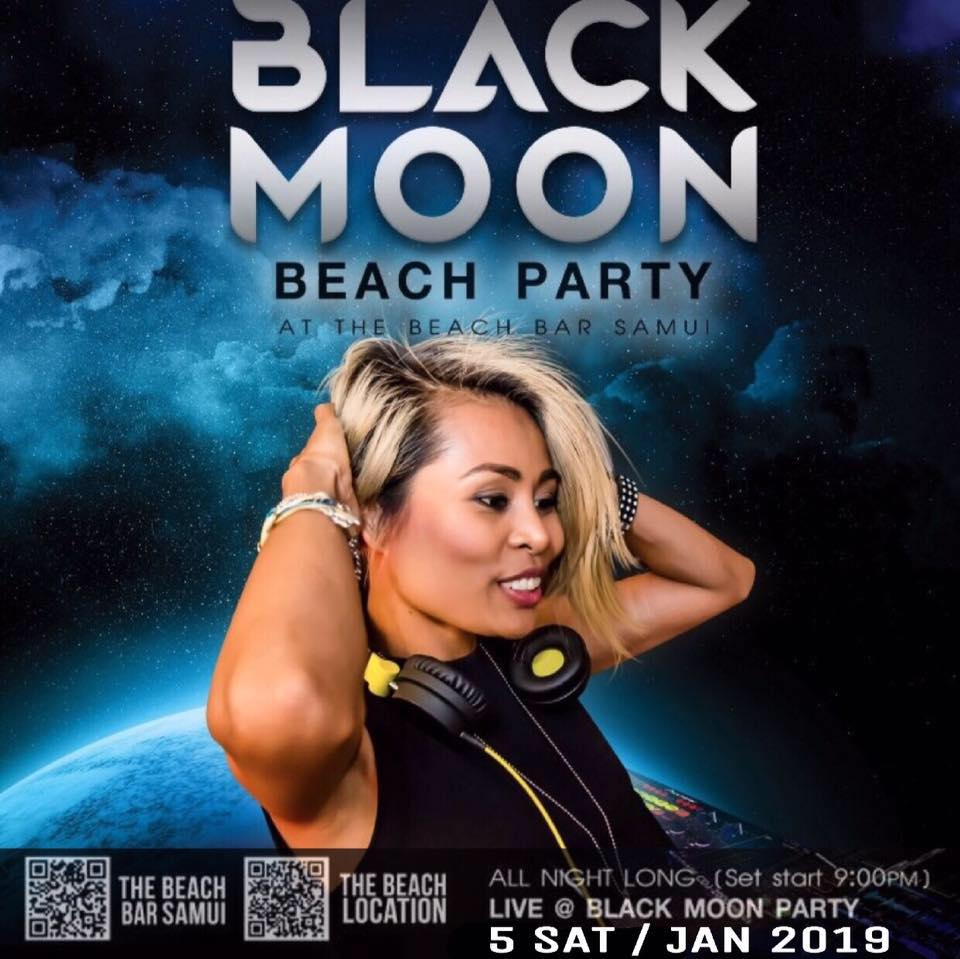 BLACK MOON Beach Party