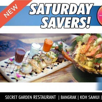 SECRET GARDEN SATURDAY SAVERS!