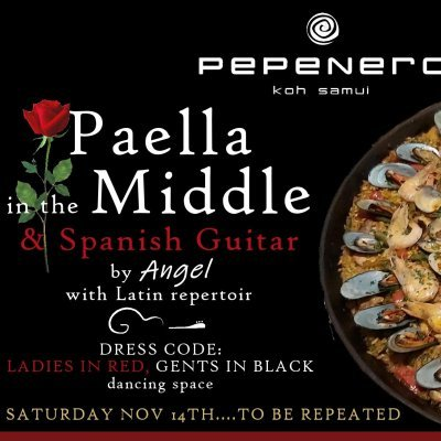 Paella in the Middle