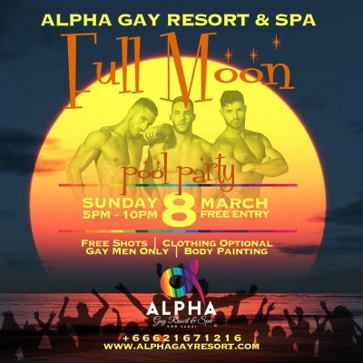 Full Moon Pool Party