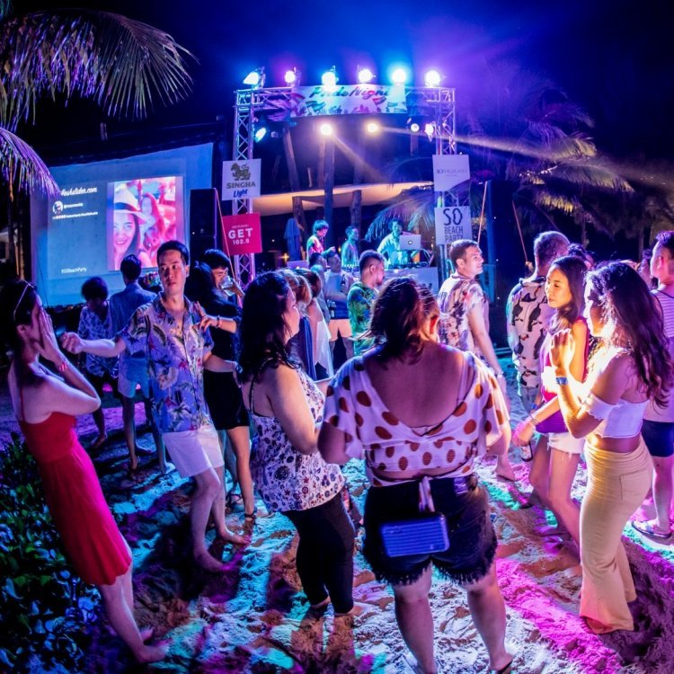 Beach Party * Live Music on Saturday * – 19 September 2020 in the King Busch Reggae Beach in Koh Samui