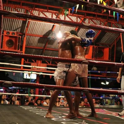 Watch a Thai boxing show