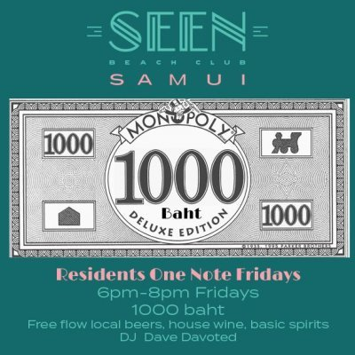 "Residents ""ONE NOTE"" Free-Flow Fridays"