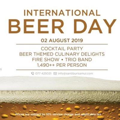International Beer Day at Santiburi Koh Samui