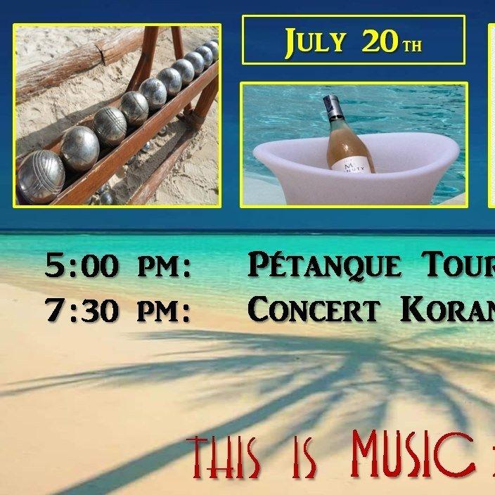 Petanque Tournament & Live Concert