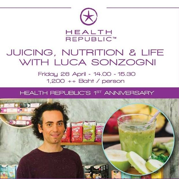 Health Republic's 1st Anniversary Juice Workshop