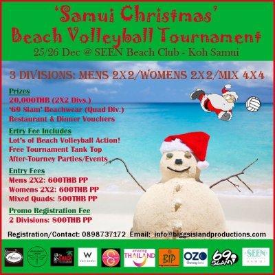 'Samui Christmas' Beach Volleyball Tournament